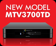 New model! MTV3700TD - available this Summer!